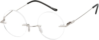 Round Rimless Reading Glasses