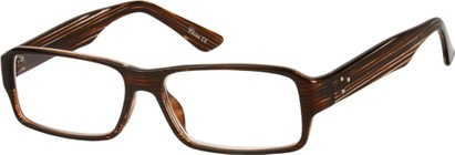 Angle of The Murdoch in Brown Stripe, Women's and Men's