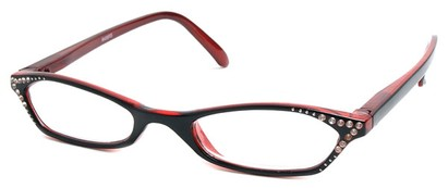 Angle of The Jenna in Black and Red, Women's and Men's