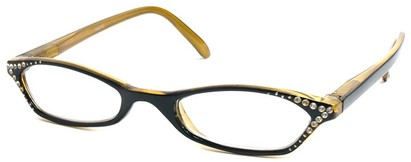 Angle of The Jenna in Black and Yellow, Women's and Men's