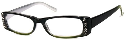Angle of The Laurel in Black/Green and Silver, Women's and Men's