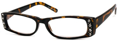 Angle of The Laurel in Brown Tortoise, Women's and Men's