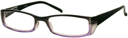 Angle of The Daisy in Black/Purple Fade, Women's and Men's