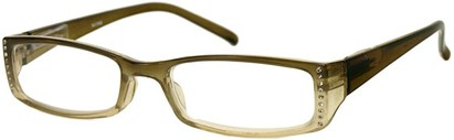 Angle of The Daisy in Tan/Clear Fade, Women's and Men's