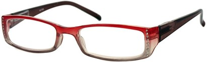 Angle of The Daisy in Red/Brown Fade, Women's and Men's