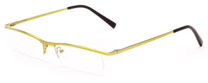 Angle of The Echo in Green, Women's and Men's Rectangle Reading Glasses