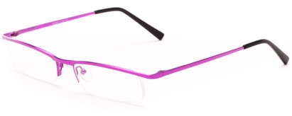 Angle of The Echo in Pink, Women's and Men's Rectangle Reading Glasses