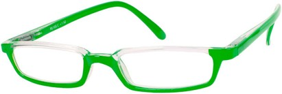Angle of The Columbia in Lime Green, Women's and Men's