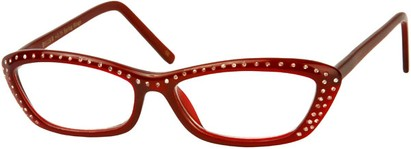 Angle of The Josephine in Red, Women's and Men's