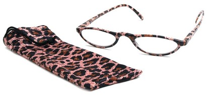Angle of The Michelle in Pink Leopard, Women's and Men's