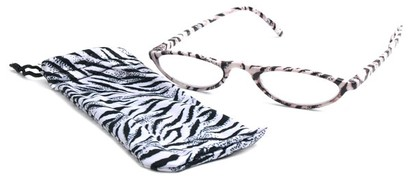 Angle of The Michelle in White Zebra, Women's and Men's