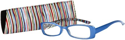 Angle of The Lucy in Glossy Blue Multi, Women's and Men's