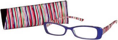 Angle of The Lucy in Indigo Blue/Pink Multi, Women's and Men's