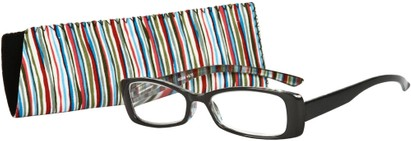 Angle of The Lucy in Glossy Grey Multi, Women's and Men's