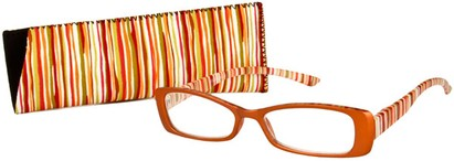 Angle of The Lucy in Orange Multi, Women's and Men's