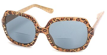Animal Print Bifocal Sunglasses from readingglassesshopper.com