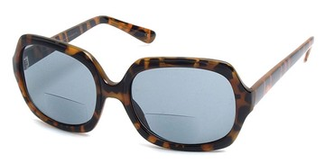 Leopard Print Bifocal Reading Sunglasses - ReadingGlassesShopper.com