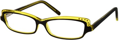 Angle of The Macy in Yellow and Black, Women's and Men's