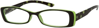 Angle of The Kayla in Lime Green/Black, Women's and Men's