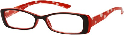 Angle of The Kayla in Red/Black, Women's and Men's