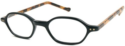 Angle of The Lexington in Black and Brown Tortoise, Women's and Men's