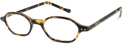 Angle of The Lexington in Tan Tortoise, Women's and Men's
