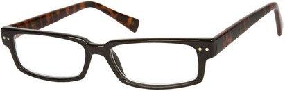 Angle of The Duncan in Black/Brown Tortoise, Women's and Men's