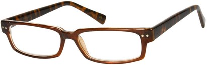 Angle of The Duncan in Brown/Brown Tortoise, Women's and Men's