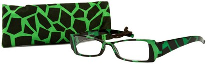 Angle of The Geena in Green/Black, Women's and Men's