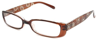 Angle of The Vanessa in Brown, Women's and Men's