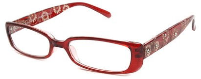 Angle of The Vanessa in Red, Women's and Men's