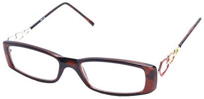 Angle of The Janet in Brown with Red/Yellow, Women's and Men's
