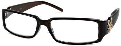 Angle of The LuAnn in Brown, Women's and Men's