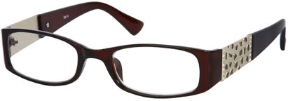 Angle of The Corinne in Brown, Women's and Men's