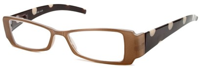 Angle of The Dottie in Tan and Brown, Women's and Men's