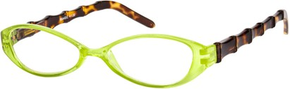 Angle of The Honolulu in Green/Tortoise, Women's and Men's