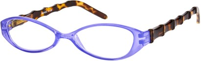 Angle of The Honolulu in Purple/Tortoise, Women's and Men's
