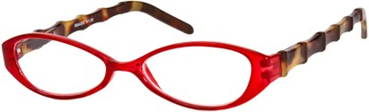 Angle of The Honolulu in Red/Tortoise, Women's and Men's