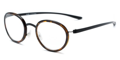 Angle of The Wanderlust in Tortoise, Women's and Men's Round Reading Glasses