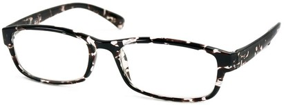 Angle of The Montreal in Black Tortoise, Women's and Men's