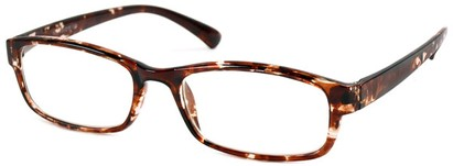 Angle of The Montreal in Brown Tortoise, Women's and Men's