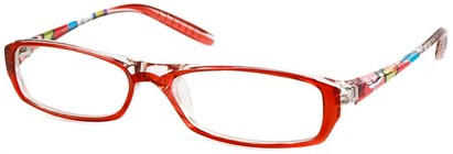 Angle of The Ellen in Red Swirls, Women's and Men's