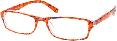 Angle of The Clarissa in Tiger, Women's and Men's