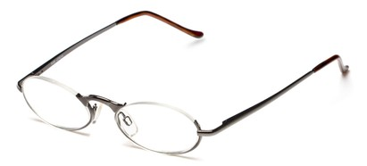 Semi-Rimless Oval Readers