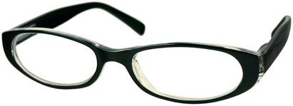 Angle of The Hanson in Black/Clear, Women's and Men's