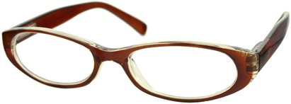 Angle of The Hanson in Brown/Clear, Women's and Men's