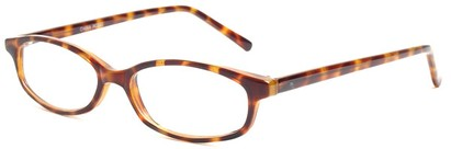 Angle of The Turner in Tortoise, Women's and Men's Oval Reading Glasses