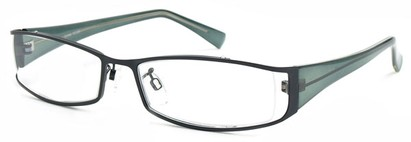 Angle of The Lenox in Black and Grey Frame, Women's and Men's