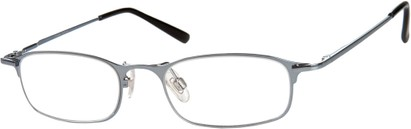 Angle of The Sydney in Blue, Women's and Men's Rectangle Reading Glasses