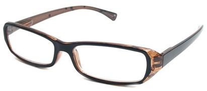Angle of The Estelle in Black and Brown, Women's and Men's